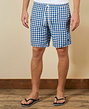 Lyle & Scott Check Swim Shorts