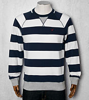 Lyle & Scott Stripe Crew Sweat