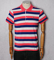 Lacoste 3 Colour Stripe Polo Shirt