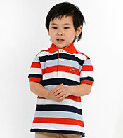 Lacoste Kids Stripe Polo Shirt