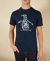 Original Penguin Paisley Logo T-Shirt - Exclusive