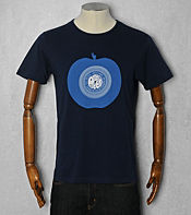 Pretty Green Record Print T-Shirt - Exclusive