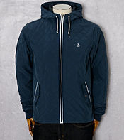 Original Penguin Quilted Hooded Ratner Jacket - Exclusive