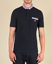 Fred Perry Gingham Polo Shirt - Exclusive