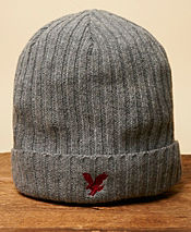 Lyle & Scott Ribbed Beanie