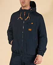 Duck and Cover Orson Hooded Jacket