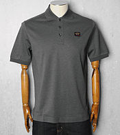 Paul and Shark Chest Badge Polo Shirt