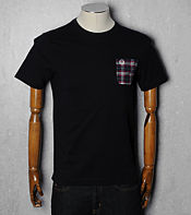 Fred Perry Check Pocket T-Shirt