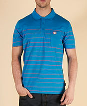 Pretty Green Stripe Polka Polo Shirt - Exclusive