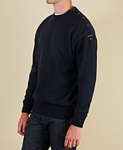 Paul and Shark Button Shoulder Knit