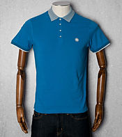 Pretty Green Optical Collar Polo Shirt
