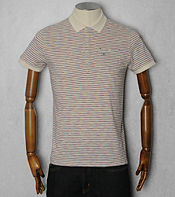 Duck and Cover Olney Multi Stripe Polo Shirt