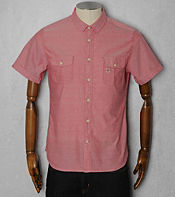 Duck and Cover Deacon End on End Short Sleeved Shirt