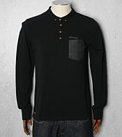 Nicholas Deakins Long Sleeve Steed Polo Shirt