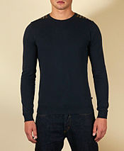 Aquascutum Check Shoulder Knit