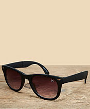 One True Saxon Folding Matte Sunglasses - Exclusive