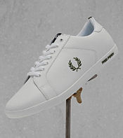 Fred Perry Earl Leather