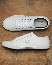 Fred Perry Vintage Tennis Leather