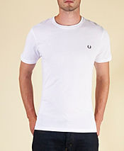 Fred Perry Plain Crew T-Shirt