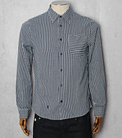 Denham Plain Long Sleeve Shirt