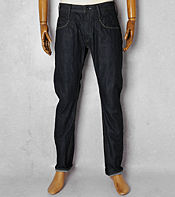 Denham Cutter Curved Leg Jeans - Long