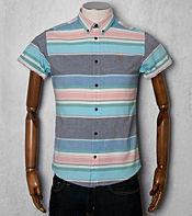 Farah Vintage Reno Oxford Striped Shirt