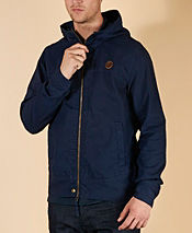 Pretty Green Canvas Festival Hooded Jacket