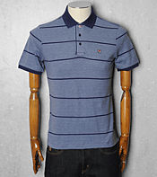 Fila Ash Stripe Polo Shirt
