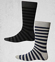 Duffer of St George Hillbill 2 Pack Socks- Exclusive