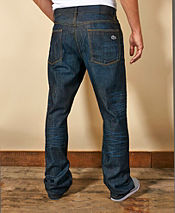 Lacoste Straight Leg Croc Jeans - Regular
