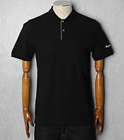 Aquascutum Check Trim Polo Shirt