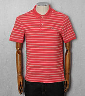 Lacoste Double Finestripe Polo Shirt