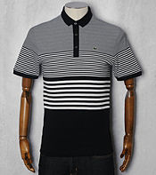 Lacoste Graduated Stripe Polo Shirt