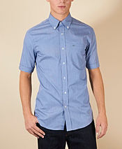 Lacoste End on End Short Sleeved Shirt
