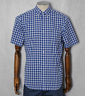 Lacoste Block Check Short Sleeved Shirt