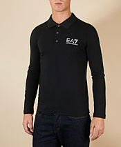 Emporio Armani EA7 Train Core Long Sleeve Polo Shirt