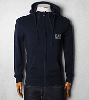 Emporio Armani EA7 Sail Hooded Knit