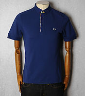 Fred Perry Madras Trim Polo Shirt