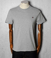 Fred Perry Tartan Trim T-Shirt