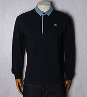 Lacoste Pique Long Sleeve Polo Shirt