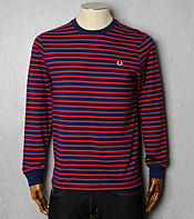 Fred Perry Long Sleeve Stripe T-Shirt