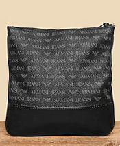 Armani Jeans All Over Stash Bag