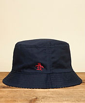 Original Penguin Reversible Camo Bucket Hat - Exclusive