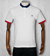 Fred Perry Block Collar Polo Shirt