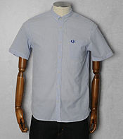 Fred Perry Seersucker Stripe Shirt