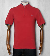 Fred Perry Bradley Wiggins Tipped Cycling Polo Shirt