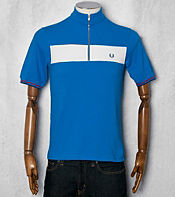 Fred Perry Bradley Wiggins Panel Cycling Polo Shirt