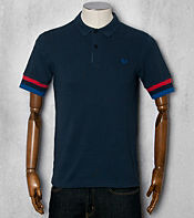 Fred Perry Bradley Wiggins Tipped Cuff Polo Shirt