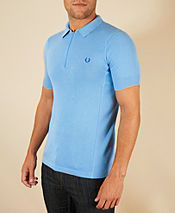 Fred Perry Bradley Wiggins Knitted Polo Shirt
