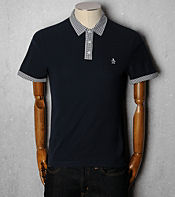 Original Penguin Wip Tip Polo Shirt